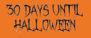30 Days Until Halloween